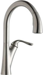 Elkay LKHA4031LS - Harmony Single Handle Pull-Down Kitchen Faucet, Lustrous Steel