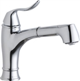 Elkay LKLFEC1042CR - Explore Low FLow Single Handle Pull Out Spray Faucet, Polished Chrome