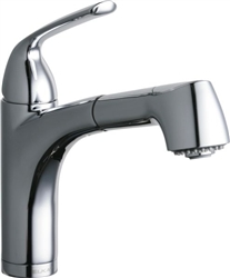 Elkay LKLFGT1042CR - Gourmet Low Flow Pull-Out Spray Bar / Prep Faucet, Polished Chrome