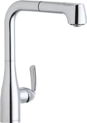 Elkay LKLFGT2041CR - Gourmet Low Flow Pull-Out Spray Kitchen Faucet, Polished Chrome