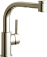 Elkay LKLFMY1042NK - The Mystic® Low Flow 1.5 GPM Single Handle Pull-Out Spray Faucet, Brushed Nickel