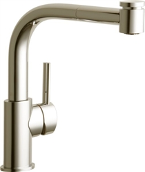 Elkay LKMY1041NK - The Mystic® Single Handle Pull-Out Kitchen Faucet, Brushed Nickel
