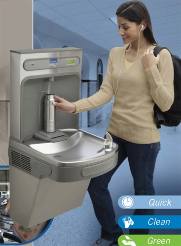 Elkay Lzs8wssk Ezh2o Bottle Filling Station