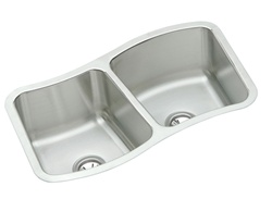 Elkay - MYSTIC332010 - The Mystic® Double Bowl Undermount Sink - Stainless Steel