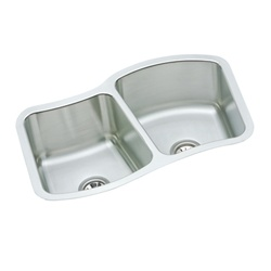 Elkay - MYSTIC332110L - The Mystic® Double Bowl Undermount Sink - Stainless Steel