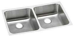 Elkay - PODUH3118 - Pursuit Outdoor Double Bowl 18 Gauge Stainless Steel Sink with Lustrous Satin Finish, Corrosion Resistant