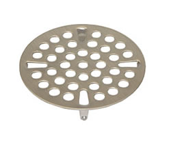 Component Hardware - D10-X013 - FLAT STRAINER S/S 3-inch