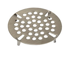 Component Hardware - D10-X014 - FLAT STRAINER S/S 3 1/2-inch