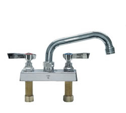 Component Hardware - K11-4006 - TOPLINE DECK FAUCET 4-inch CTR 6-inch