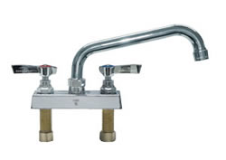 Component Hardware - K11-4010 - TOPLINE DECK FAUCET 4-inch CTR 10-inch