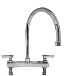 Component Hardware - K11-8001 - TOPLINE DECK FAUCET 8-inch CTR *8-inch*