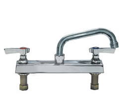 Component Hardware - K11-8006 - TOPLINE DECK FAUCET 8-inch CTR 6-inch