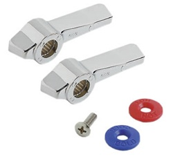 Component Hardware - K50-0110-PR - HANDLE REPLACEMENT KIT W/SCREW PAIR