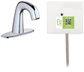 Chicago Faucets EQ-A12A-41ABCP Lav Faucet Eq Ir Rnd 4P Aclp Ss Nmix