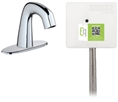 Chicago Faucets EQ-A12A-42ABCP Lav Faucet Eq Ir Rnd 4P Aclp Ds Int Mech