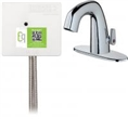Chicago Faucets EQ-A22A-45ABCP Lav Faucet Eq Ir Rnd 4P Aclp Ds Ext 1070