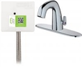 Chicago Faucets EQ-A23A-45ABCP Lav Faucet Eq Ir Rnd 8P Aclp Ds Ext 1070