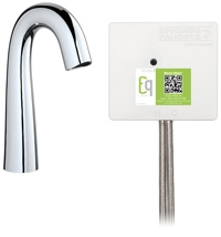 Chicago Faucets EQ-C11A-42ABCP Lav Faucet Eq Ir Gn Sh Aclp Ds Int Mech