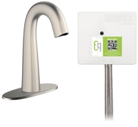 Chicago Faucets EQ-C12A-43ABBN Lav Faucet Eq Ir Gn 4P Aclp Ds Int 1070