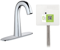 Chicago Faucets EQ-C13A-33ABCP Lav Faucet Eq Ir Gn 8P Acpi Ds Int 1070