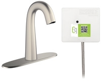Chicago Faucets EQ-C13A-41ABBN Lav Faucet Eq Ir Gn 8P Aclp Ss Nmix