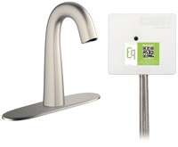 Chicago Faucets EQ-C13A-43ABBN Lav Faucet Eq Ir Gn 8P Aclp Ds Int 1070