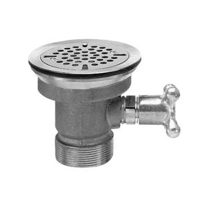 Fisher 22365 - DrainKing Waste Valve with Flat Strainer and Vandal Resistant Knob