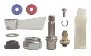 Fisher 54518 Stainless Steel Right Hand Swivel Stem Kit for use with Fisher Stainless Steel No Lead Faucets