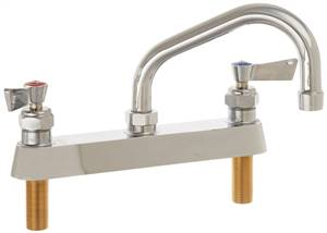 Fisher - 3310 - 8-inch Deck Mounted Faucet - 6-inch Swivel Spout