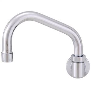 Fisher - 3912 - Single Hole Backsplash Mounted Faucet - 10-inch Swivel Spout