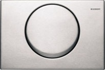 Geberit stainless steel flush plate