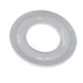 Flat gasket for flush valve