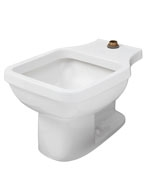 Gerber - 12420 Service Sink With Flushing Rim  Floor Mount  White