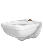 Gerber - 12430 Service Sink With Flushing Rim  wall hung White
