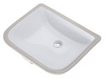 Gerber 12-750 Wicker Park Undercounter Lavatory (White)