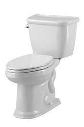 Gerber 20-015 - Brianne™ Suite 1.6 gpf (6 Lpf) Elongated 2 Piece Toilet, 12 inch Rough-In