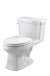 Gerber 21-010 - Allerton™ Suite 1.6 gpf (6 Lpf) One-Piece Elongated Toilet, 12 inch Rough-In