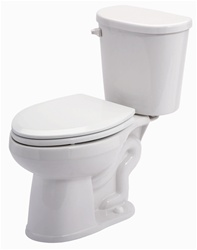 Gerber 21-100 Maxwell LX Round Front Two-Piece Toilet - 10-inch Rough-In