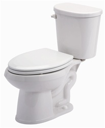 Gerber 21-110 Maxwell LX Elongated Two-Piece Toilet - 10-inch Rough-In