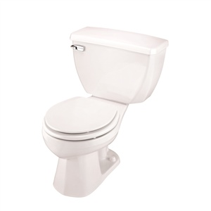 Gerber 21-302 Ultra Flush Round Front Two Piece Pressure-Assist Toilet - 12-inch Rough-In