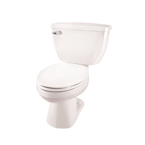 Gerber 21-312 Ultra Flush Elongated Two Piece Pressure-Assist Toilet - 12-inch Rough-In