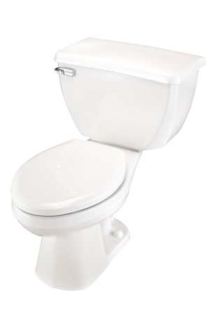 Gerber 21-314 Ultra Flush Elongated Two-Piece Pressure-Assist Toilet - 14-inch Rough-In