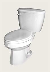 Gerber 21-410 Maxwell Elongated Two-Piece Toilet - 10-inch Rough-In