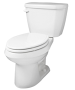 Gerber 21-510 Viper High Performance Elongated Two-Piece Toilet - 10-inch Rough-In