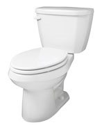 Gerber 21-512 Viper Elongated High Performance Two-Piece Toilet - 12-inch Rough-In