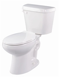Gerber 21-610 Lynx Elongated Two Piece Gravity Fed Toilet - 10-inch Rough-In