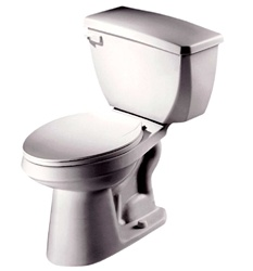 Gerber 21-724 Aqua Saver ErgoHeight™ Elongated Two-Piece Toilet - 14-inch Rough-In