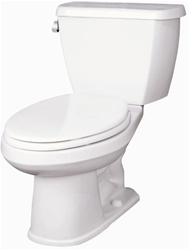 Gerber 21-802 Avalanche Round Front Two-Piece Toilet - 12-inch Rough-In