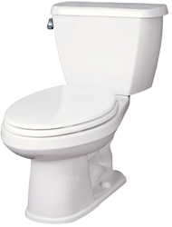 Gerber 21-812 Avalanche Elongated Front Two-Piece Toilet - 12-inch Rough-In