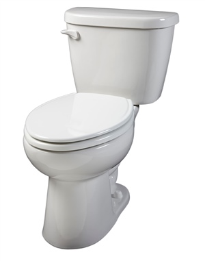 Gerber 21-914 - Maxwell ® 1.28 gpf (4.8 Lpf) Elongated Two Piece Toilet, 14-inch Rough-In